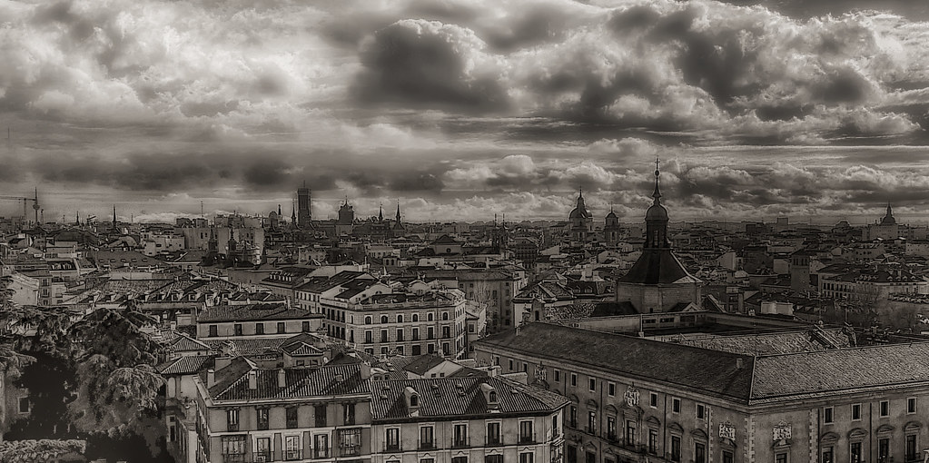 Cielo de Madrid.