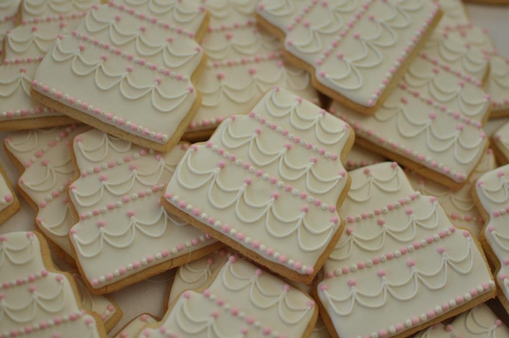 Wedding Cake Cookies Kelley Hart Flickr