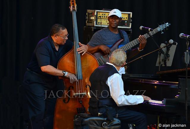 Hassan Shakur, Joshua Thomas, and Monty Alexander, Monty Alexander and The Harlem Kingston Express, Charlie Parker Jazz Festival