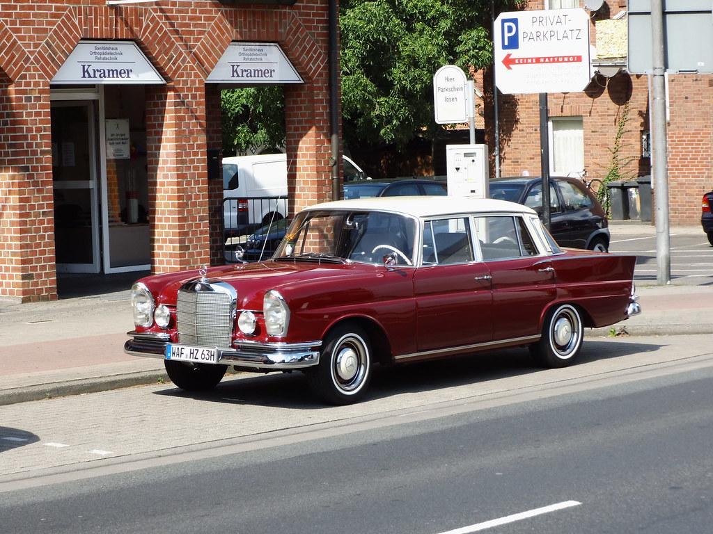 1963 Mercedes Benz 220 S                  Lingen 28.08.2013