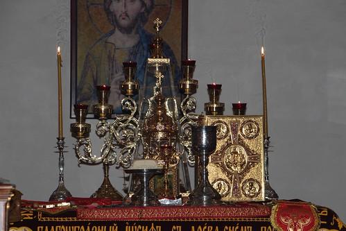 Пасхальное Богослужение в Свято-Никольском храме станицы Кавказской IMG_1431