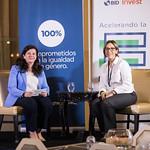 Una conversación entre Gema Sacristán, Directora general de Negocio de BID Invest, y Mercedes Canalda de Beras-Goico, Presidente Ejecutiva, Banco de Ahorro y Crédito Adopem. 13 de noviembre de 2018. Punta Cana.
