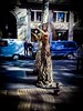 Watching a Human tree in Barcelona by G-Seb