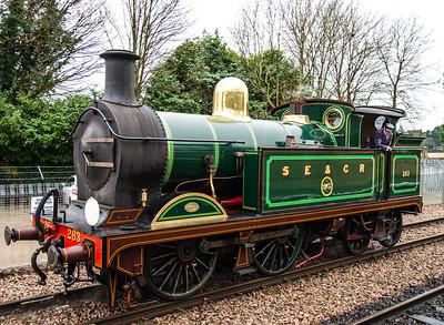 Locomotive 263 at East Grinstead
