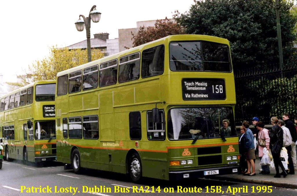 Route 15b College Street To Templeogue Dublin Bus Ra214