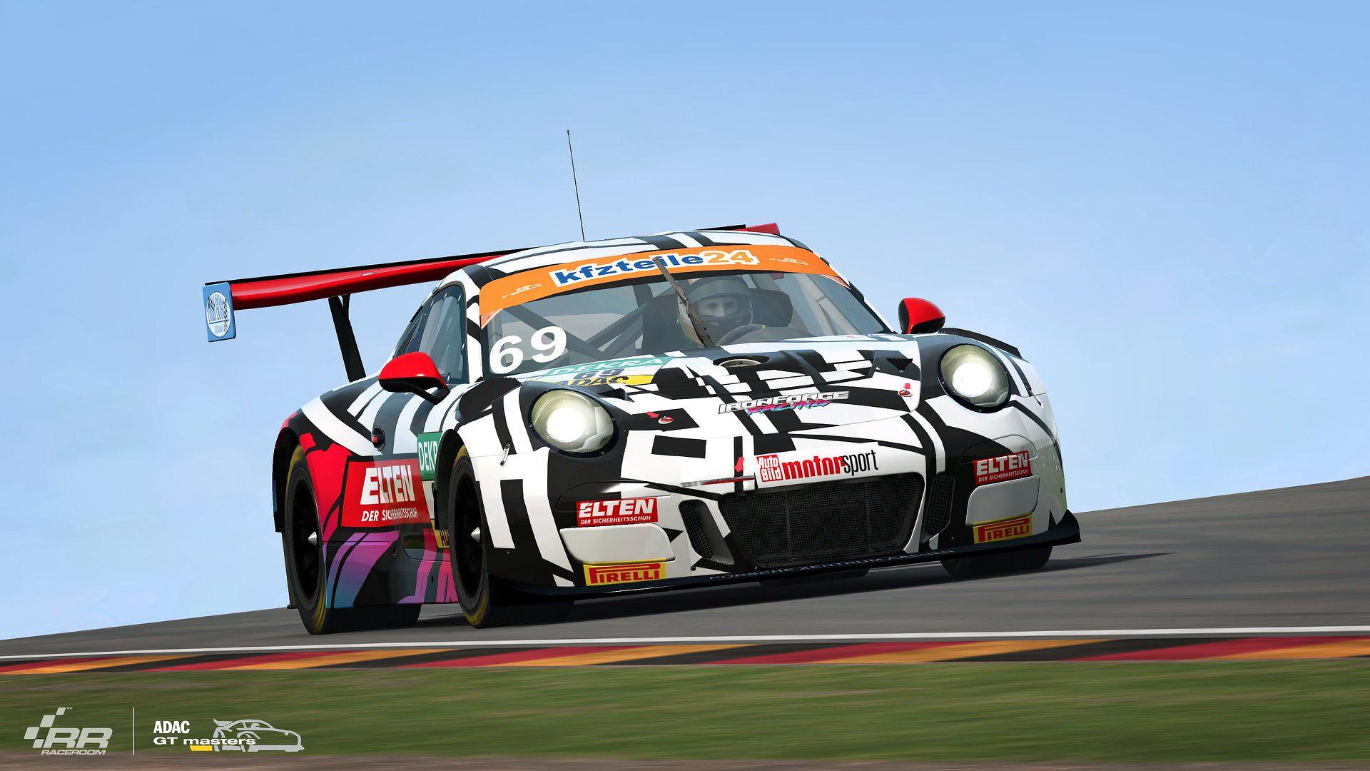RaceRoom ADAC GT Masters 2018 Porsche 3