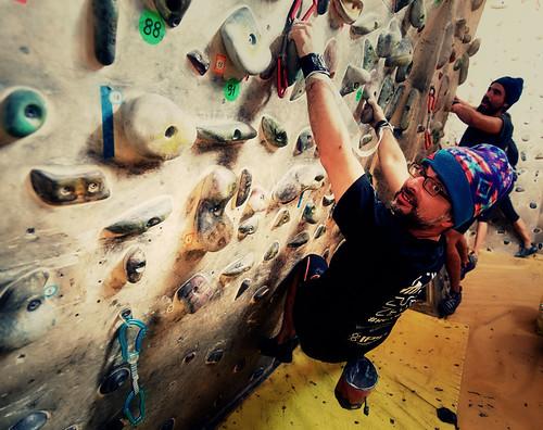 Fantasyclimbing corso di arrampicata il deposito di zio Paperone 29