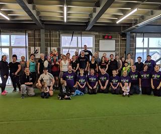 Cara fitness fundraiser for Zellweger UK