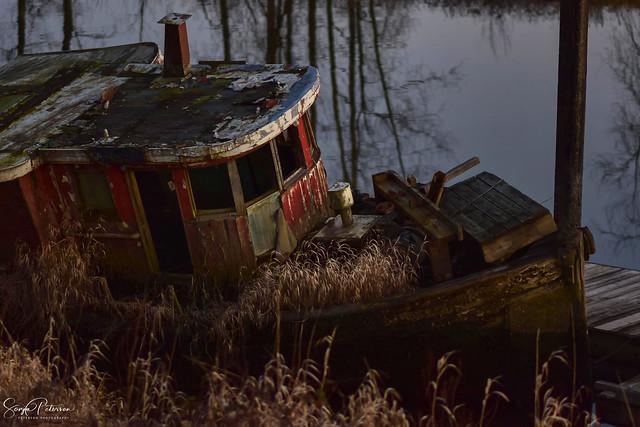 Nautical Decay - South Arm Alouette River (Explored)