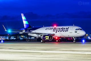 D-AUAM ( HZ-FAI ) A320-214SL Flyadeal, Maastricht Aachen Airport - EHBK/MST | by neplev1