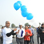 Global Diabetes day walk by NIET 2018 LUCKNOW INDIA
