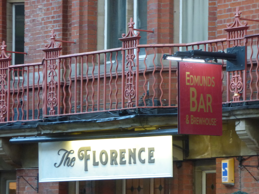 The Florence Newhall Street Birmingham Pub Sign Flickr