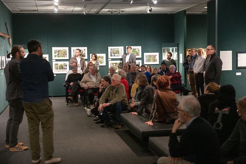 Gallery Talk at the Grohmann Museum
