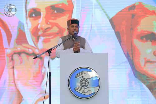 Hindi speech by Ram Krishan Sharma, Shimla