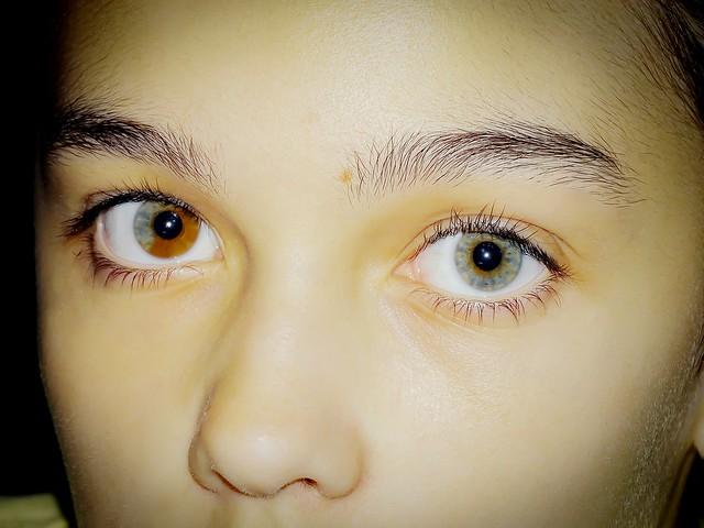 Unique beautiful eyes
