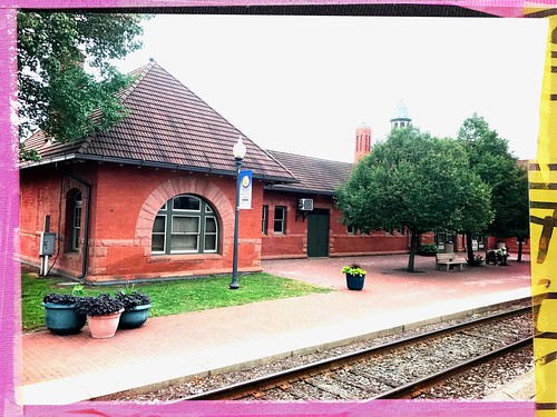 Train station in Kalamazoo, Michigan | by dschirf