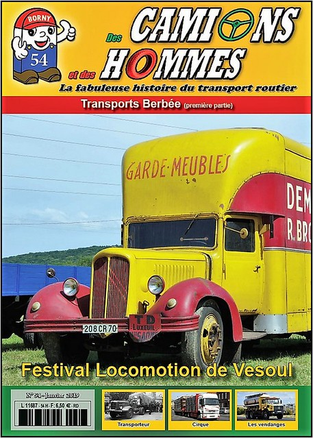 Des Camions et des Hommes n° 54.