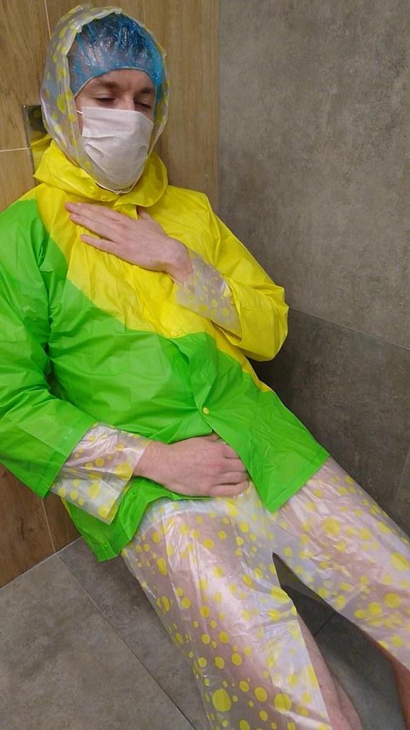 Rainwear fetish