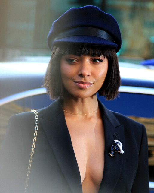 Kat Graham Paris Fashion week