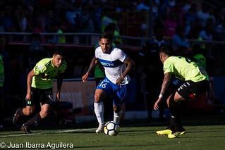 Universidad Católica derrota  1-0 a O'Higgins de Rancagua con gol de Jose Pedro Fuenzalida en  el Estadio San Carlos de Apoquindo, fecha 29  del Campeonato  Scotiabank 2018 Chile.