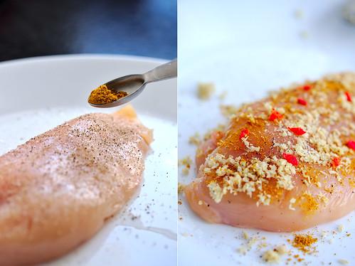 Seasoned chicken | by PlatedPalate