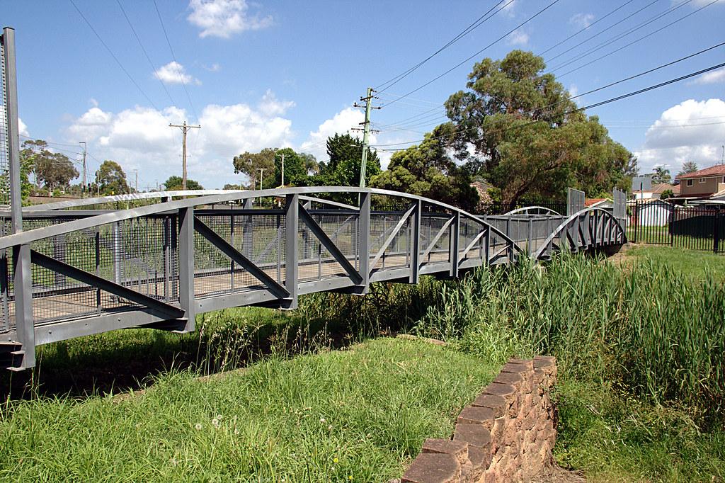 Footbridge at Kingswood