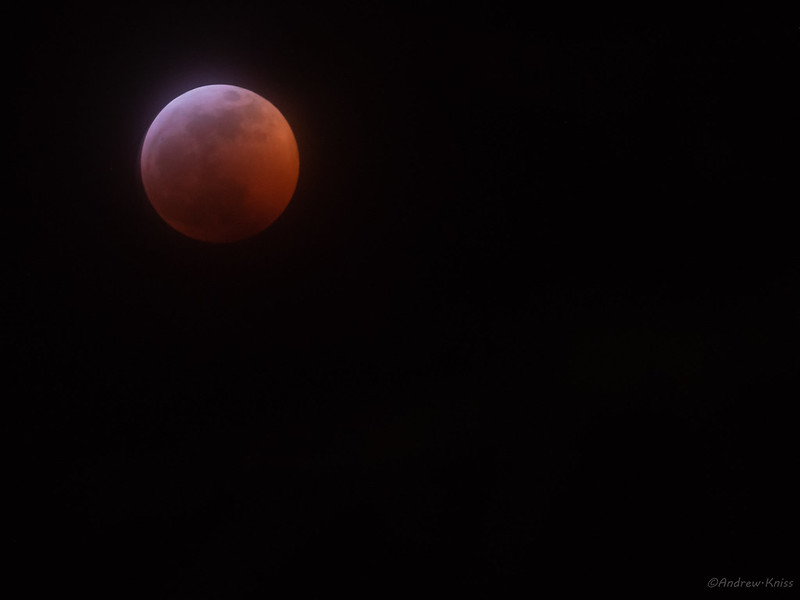 Lunar eclipse, 21-Jan-2019