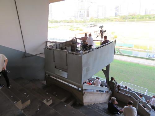 ロイヤルバンコクスポーツクラブ4階のカメラ席