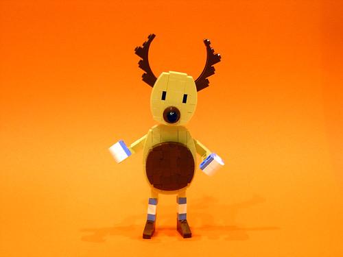 Happy Christmas Deer