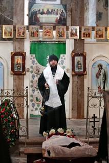 15.01.2019 | Отпевание послушника Свято-Юрьева монастыря Сергия Мызникова