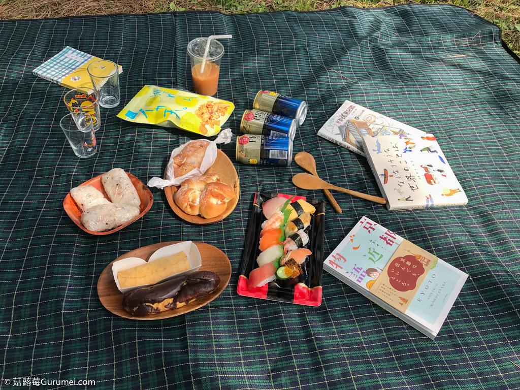 打工度假-京都生活-賞花、野餐-106
