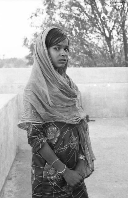 Jeune Indienne