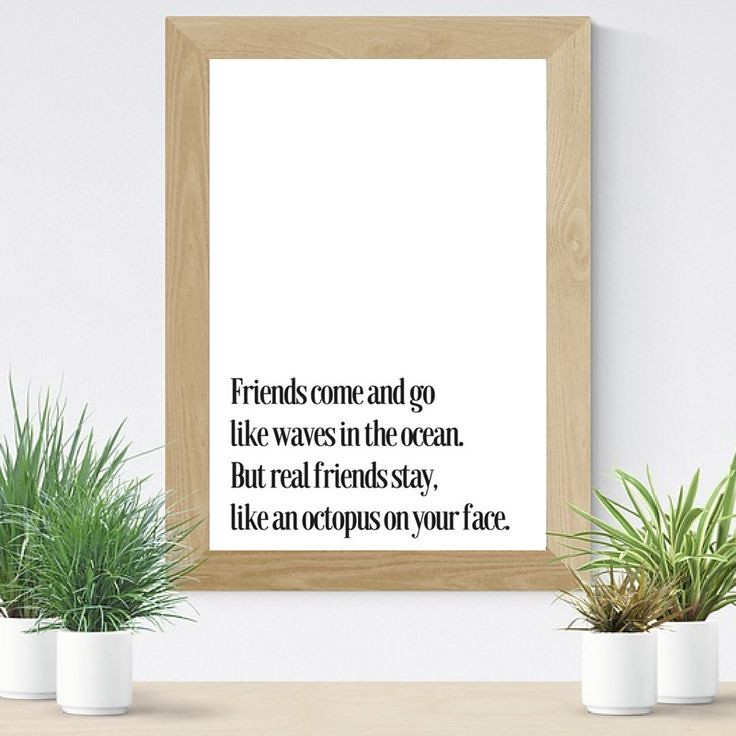 Friendship Quotes : Friends come and go Like the waves in ...