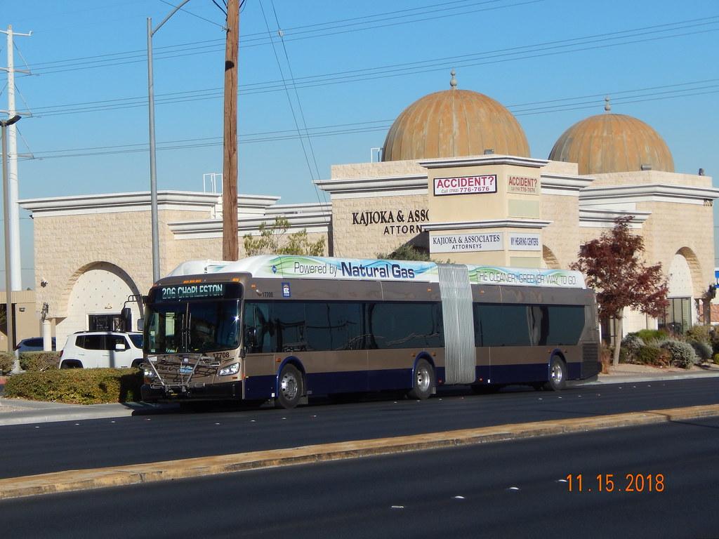 RTC of South Nevada (Las Vegas): 2015 New Flyer XN60 (CNG)… | Flickr