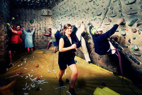 Fantasyclimbing corso di arrampicata il deposito di zio Paperone 34