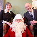 Governor Wolf and First Lady Frances Wolf Welcome People to the Holiday Open House at the Residence