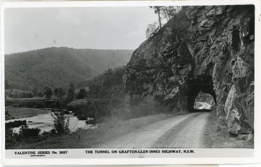 7  Tunnel on Grafton-GIen Innes Highway, NSW | Royal Australian