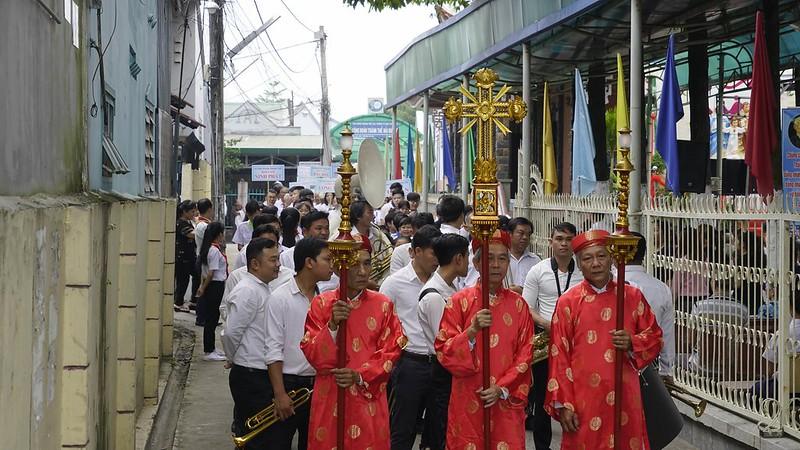 Lễ Bốn Thánh Tử Đạo Hải Dương Sáng Chúa Nhật - 2018