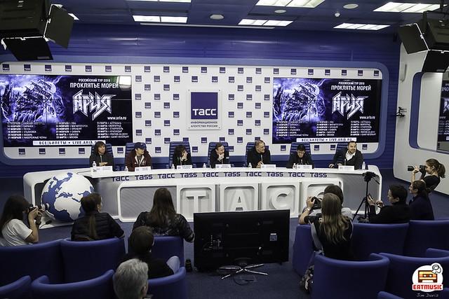 29/11/2018 Пресс-конференция группы Ария @ ТАСС