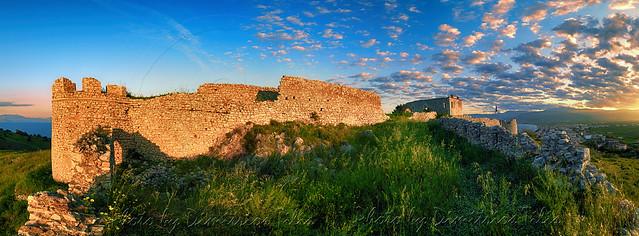Κάστρο Παραλίου Άστρους Coastal Astros Castle panorama