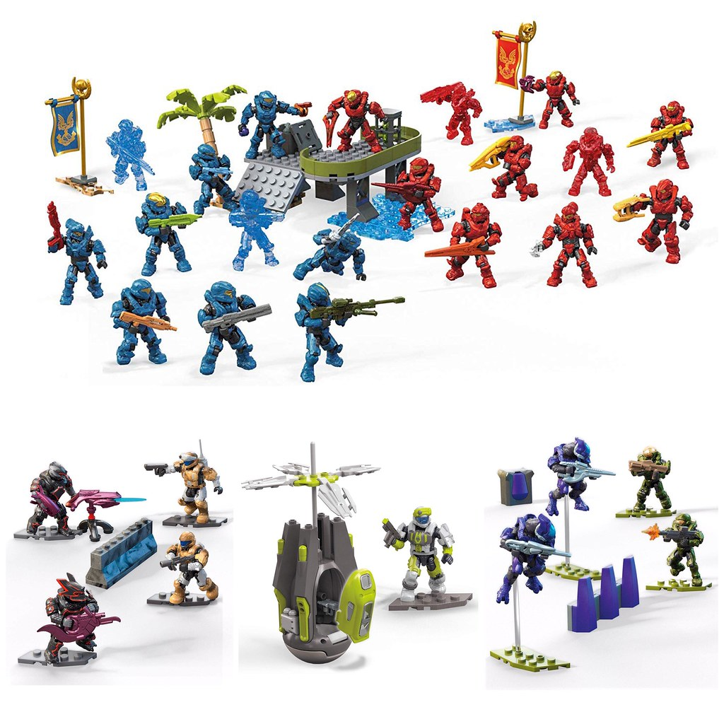 NEW Mega Construx Halo sets | Halo Raid On Appex 7 Halo Fire