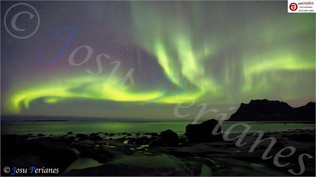 Luces del Norte en Laponia Noruega