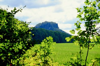 View to Lilienstein | by Henrik Skupin