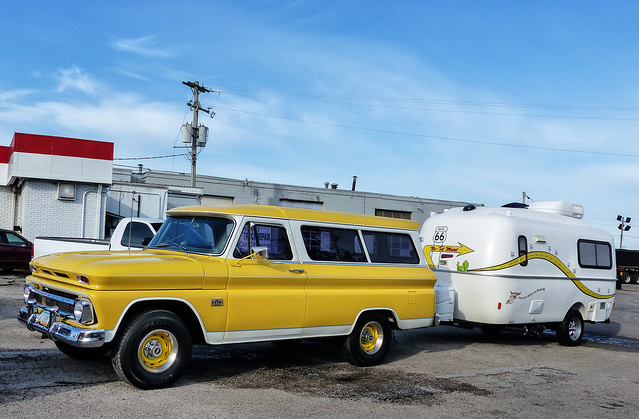 Traveling Route 66 In Style