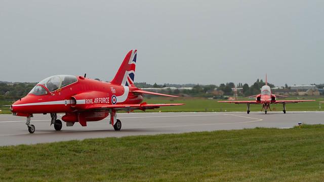 Red Arrows Hawks