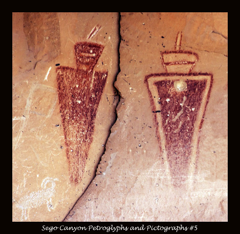 Sego Canyon Petroglyphs and Pictographs #5