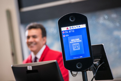 Facial recognition technology at gate | by DeltaNewsHub