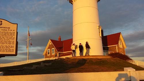 falmouth massachusetts nobskalighthouse nobska lighthouse sunset