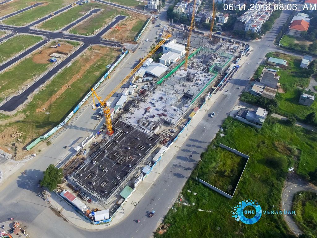 Tiến độ xây dựng căn hộ One Verandah 11-2018 5
