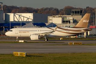 ACJ320-251N Airbus (Acropolis Aviation) D-AVVL - G-KELT MSN8403 | by hendriksehoof55